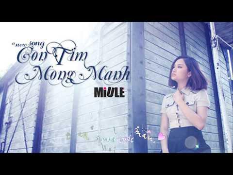 Con Tim Mong Manh - Miu Lê | Lyric Video