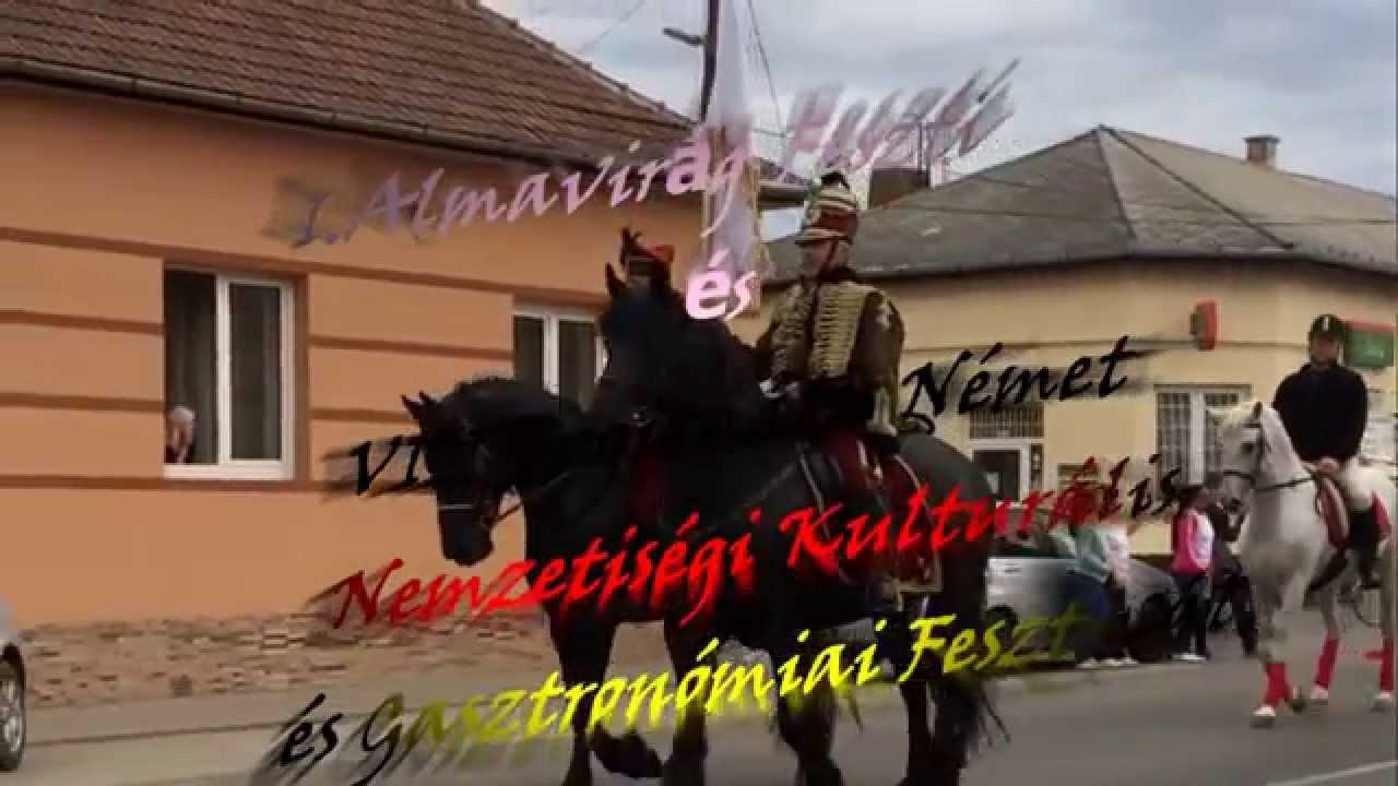 I.Almavirág Fesztivál és VIII.Regionális Német Nemzetiségi Kulturális és Gasztronómiai Fesztivál.
