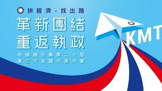 【全程影音】國民黨全代表大會 │2019.07.28