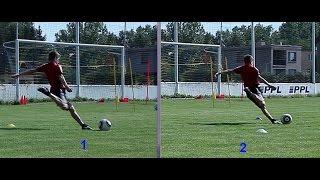 29. Футбольная школа. Урок 12 (1). Методика обучения удару подъёмом.