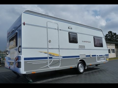 dethleffs camper 500 tk etagenbett f 3 pers mover youtube. Black Bedroom Furniture Sets. Home Design Ideas