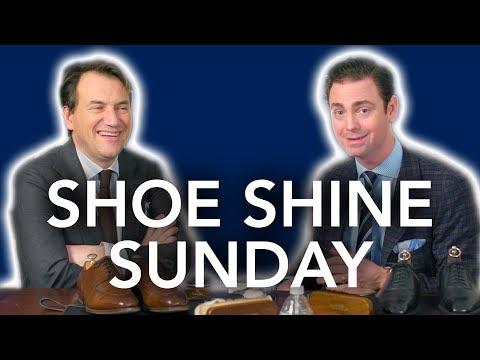 Talking Pocket Squares With Simmonot Godard, Paris   Kirby Allison Shoe Shine Sunday
