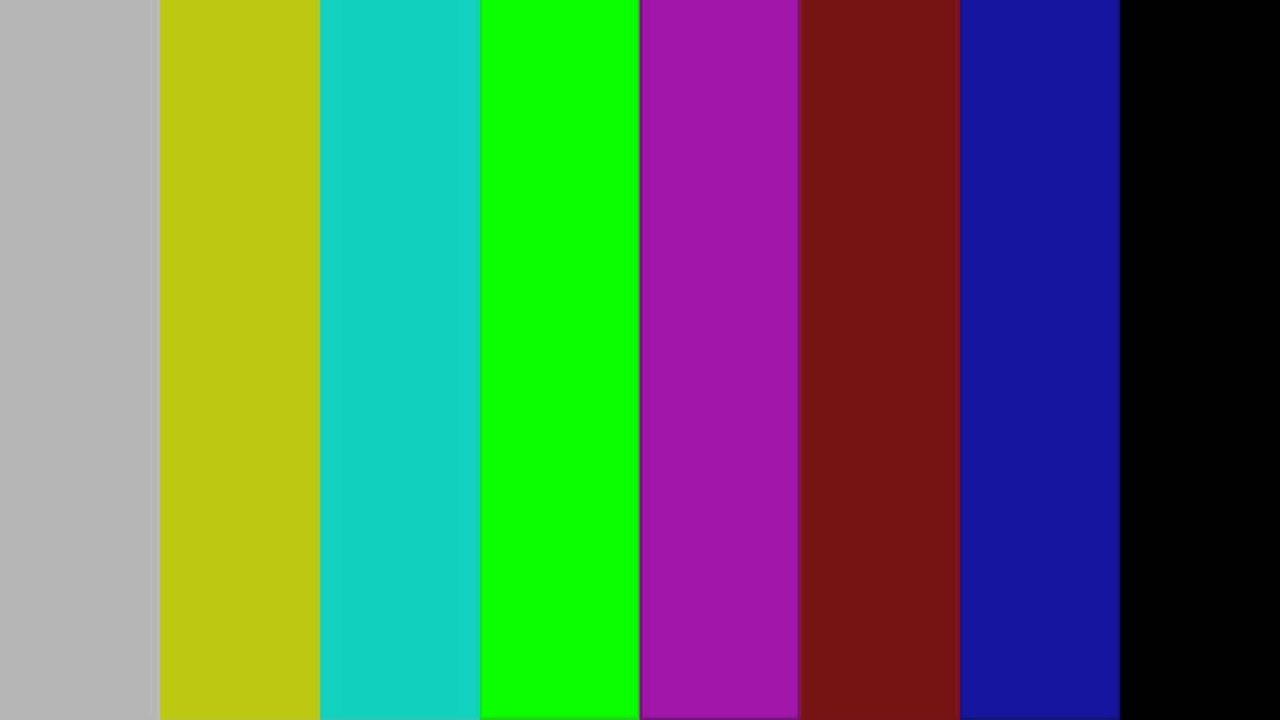 Full Hd Color Bar Type 75  With 1khz Tone
