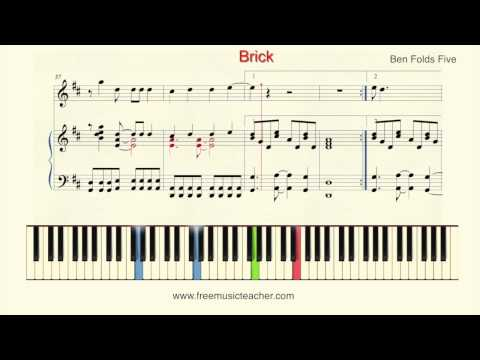 "how-to-play-piano:ben-folds-""brick"""