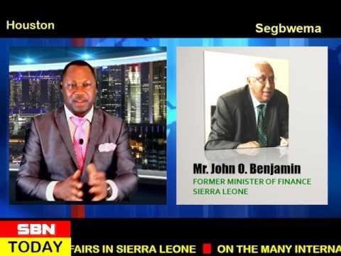 FORMER MINISTER OF FINANCE ON SHERIX BROADCAST NETWORK