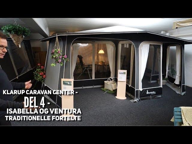 Klarup Caravan Center - del 4 - Isabella og  Ventura traditionelle fortelte