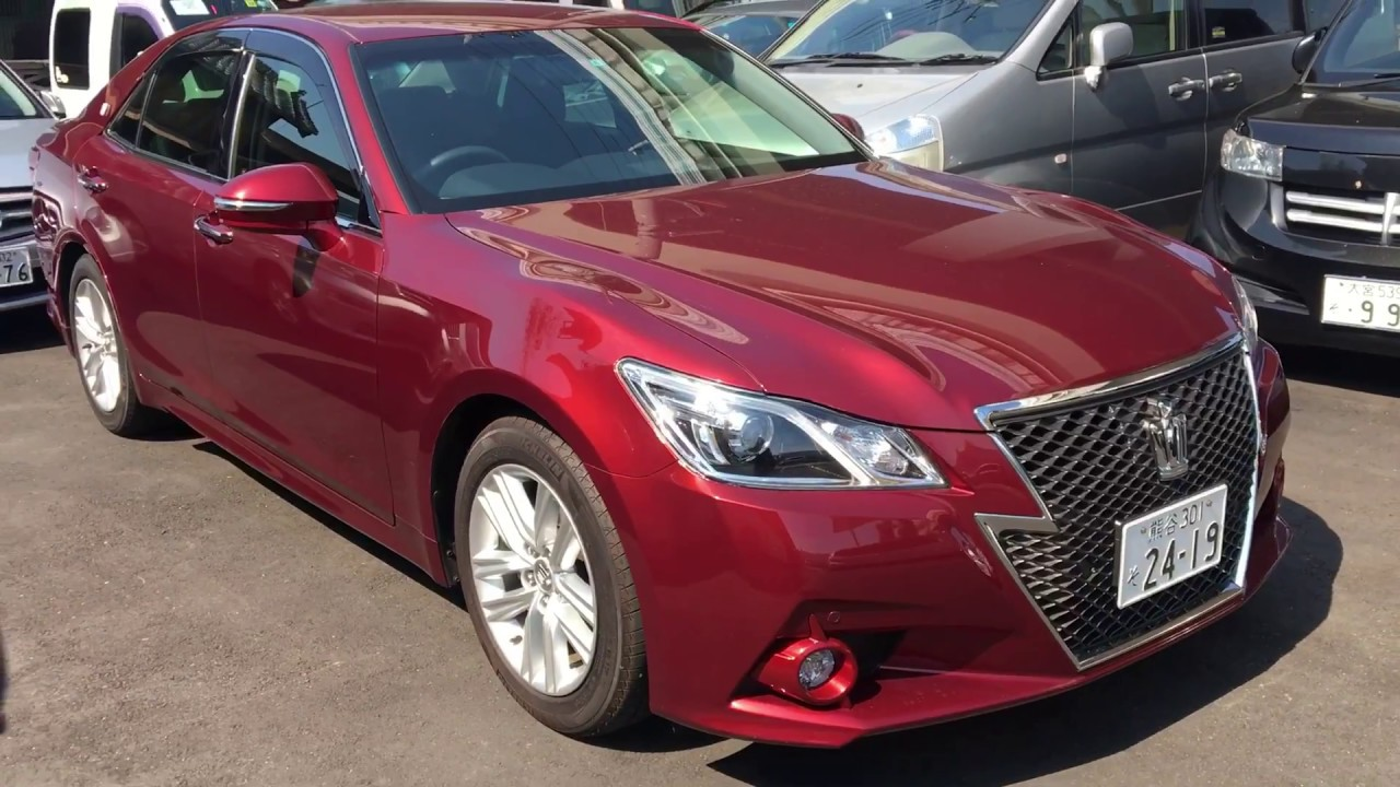 2015 toyota crown athlete for sale tokyo japan