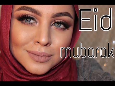 98ab9ed7ef55d EID MAKEUP ميك اب للعيد - YouTube