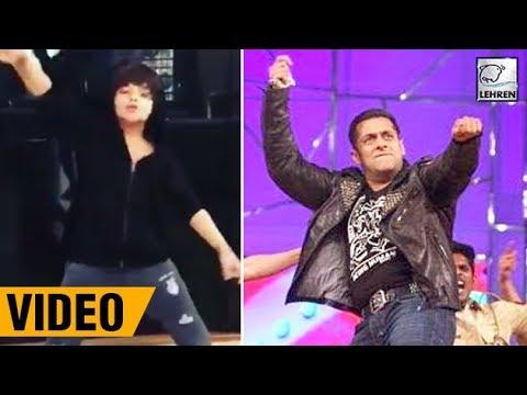 Salman Khan's Onscreen SON Dancing On Chalti Hai Kya 9 Se 12 | LehrenTV