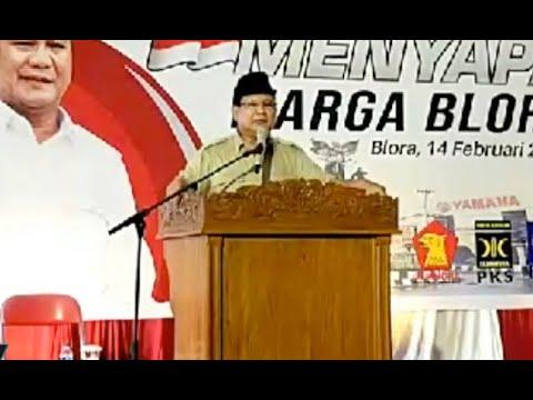 Prabowo: Harga Beras & Daging di Indonesia Salah Satu yang Termahal