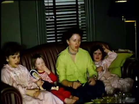 New Years Eve 1954 (16mm home movie)