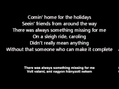 nsync I never knew the meaning of xmas with english and hungarian lyrics