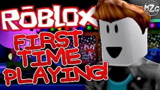 FIRST TIME Playing ROBLOX! - ROBLOX Gameplay | Ad