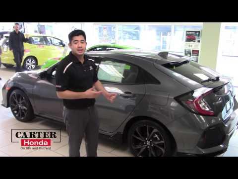 2017 Honda Civic Hatch Back Sport Package