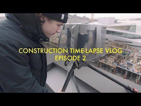 Construction Time-Lapse Vlog 2 - 10 DAYS CONTINOUS TIME-LAPSE SETUP