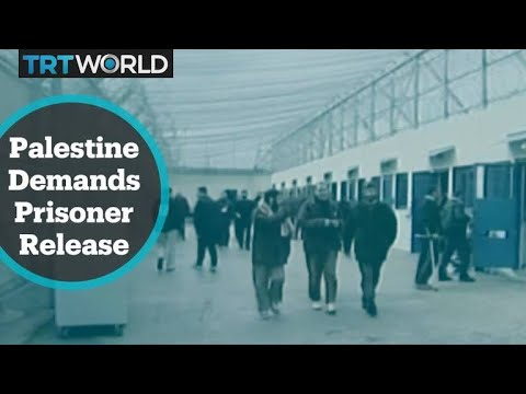 Palestine appeals for release of 5,000 prisoners in Israel