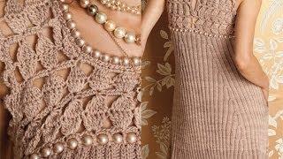 #3 Pearl Bodice Dress, Vogue Knitting Fall 2012