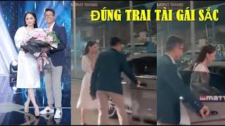 CEO Matt Liu lái siêu xe đưa Hương Giang về dinh sau màn trao hoa hẹn hò