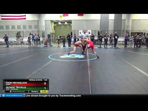 Middle School 125 Thor Michaelson NWWC Vs George Trujillo Team Takedown