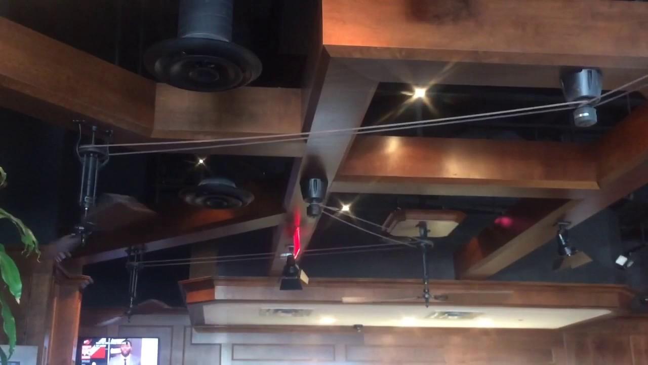 Fanimation Brewmaster Belt Drive Ceiling Fan Youtube