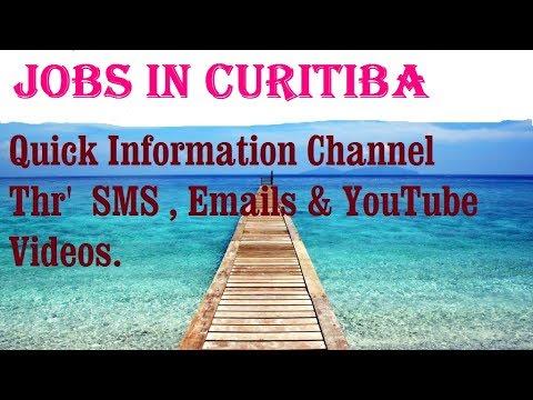 Jobs in CURITIBA   City for freshers & graduates. industries, companies.  BRAZIL
