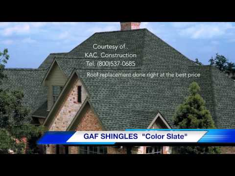 GAF TIMBERLINE SHINGLES ROOFING CONTRACTORS RI - KAC. Construction (401)837-6730