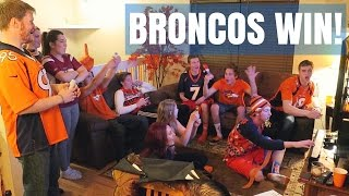 Broncos Super Bowl 50 Win REACTION!