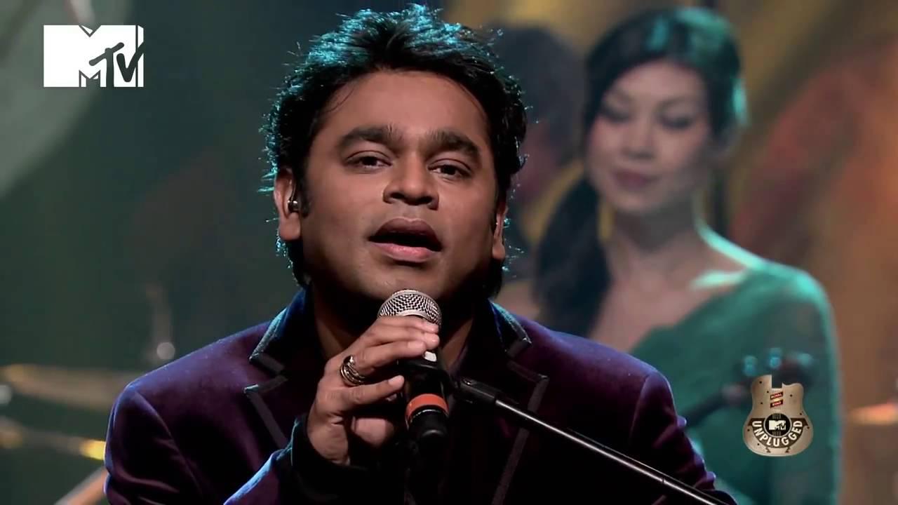 A R Rahman MTV Unplugged Season 2 Dil Se - YouTube