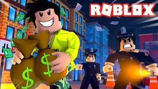 ROB a BANK in ROBLOX