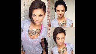 Порно звезды до и после макияжа