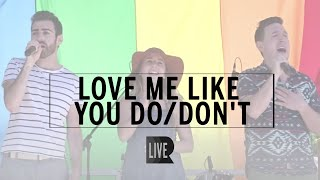 Love Me Like You Do/Don't - RANGE (LIVE @ North Jersey Pride)