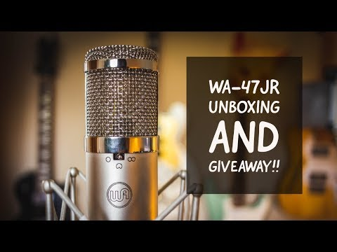 WA 47jr Unboxing and GIVEAWAY!!!