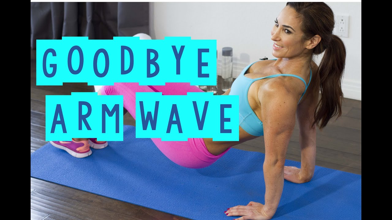 Best Tricep Exercises To Get Rid Of Flabby Arm | Natalie Jill