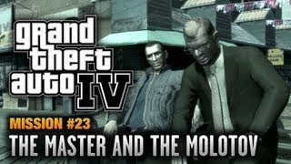 GTA 4 - Mission #23 - The Master and the Molotov (1080p)