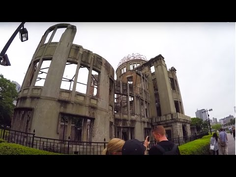 NUCLEAR BOMB SITE - HIROSHIMA JAPAN