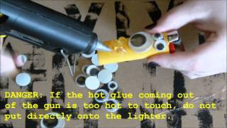 DIY Punk Lighter Tutorial Scary Cute Inspired Halloween Project!
