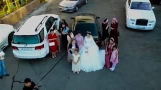 Ингушская свадьба. Нарезка видео с воздуха.