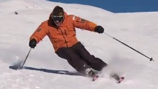 Урок 20 - Карвинг на лыжах Основная лыжная стойка