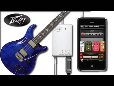 Peavey AmpKit Link Unboxing & App Review - Connect Your Guitar To Your IPhone!
