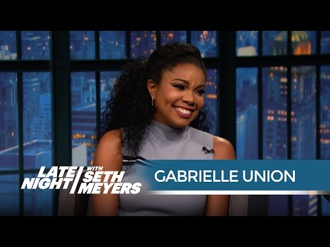 Gabrielle Union on Her Twitter Feud with Charles Barkley - Late Night with Seth Meyers