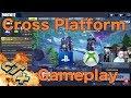 Fortnite Cross Play PS4 & Xbox One X , Ft. GraceGTXvideos , Epic Gameplay