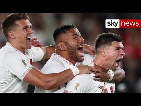 England's semi-final victory over the All Blacks