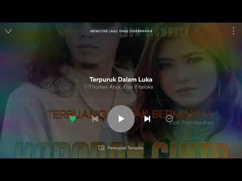 Free Download Album Baru Thomas Arya Feat Elsa Pitaloka - Terpuruk Dalam Luka Mp3 dan Mp4