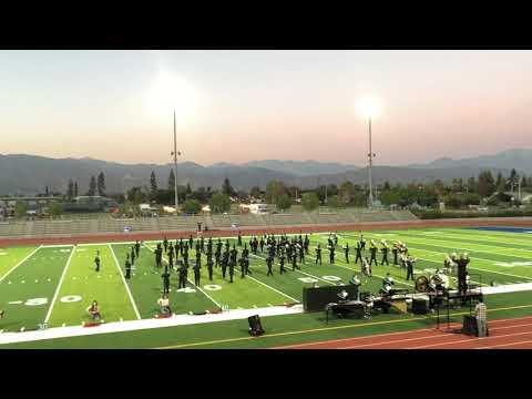 Bonita High School marching band @ Baldwin Park High School Competition- Oct 21, 2017