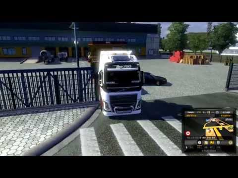 eurotruck simulator2 1.14s over size freight volvo FH16 10X4 chassis