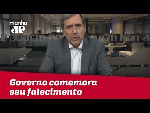 Governo Temer comemora a data de seu falecimento | Marco Antonio Villa