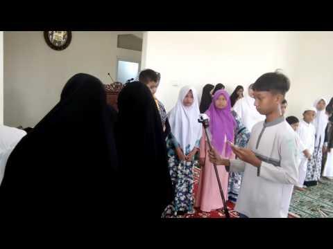 Sholawat menyentuh anak yatim piatu#maulidnabi#masjidalmuhajirin#santunan#haru2016#