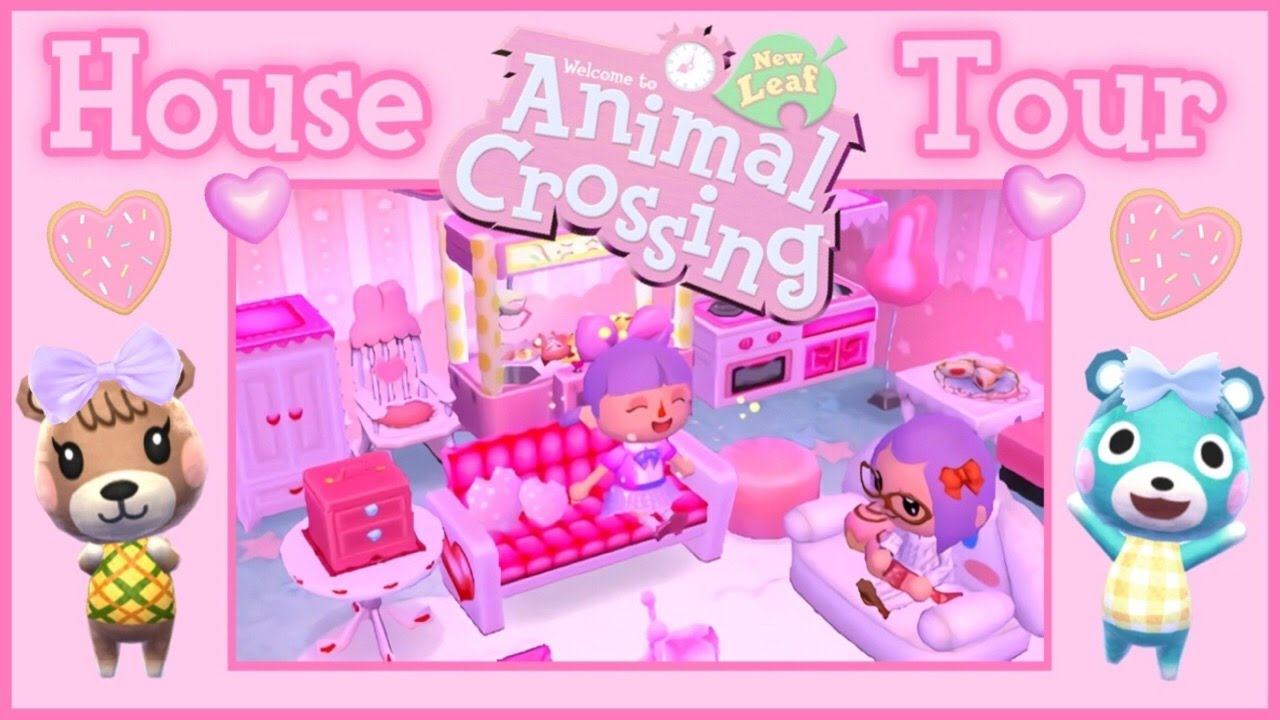 animal crossing new leaf house tour youtube