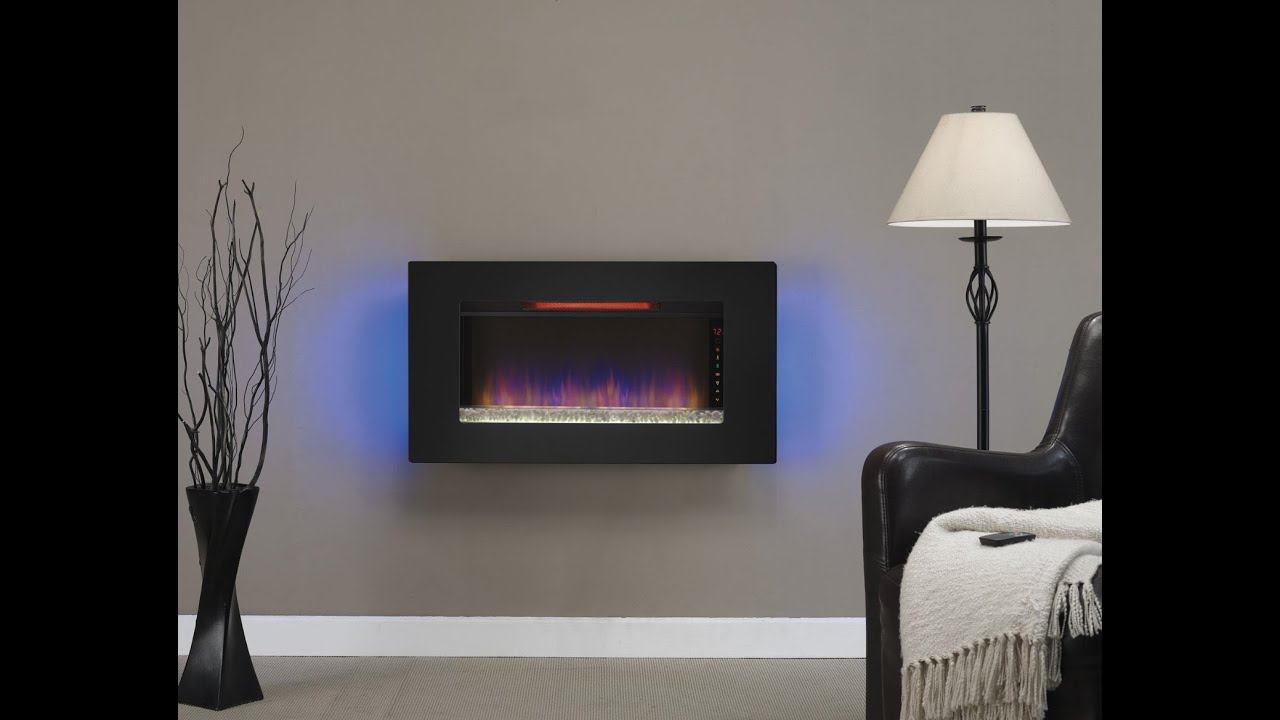 "http://cozybythefire.com/classic-flame-wall-mount-electric-fireplace-review/ This 36"" fireplace is worth a look from anyone considering an electric fireplace..."
