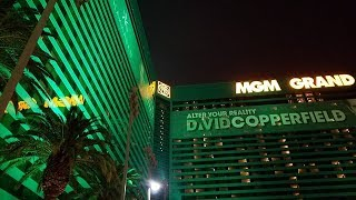 MGM GRAND HOTEL & CASINO TOUR..FEB 2018,